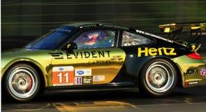 Drivers Tim Pappas and Jeroen Bleekemolen Stock Photos