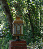 Driveway Lantern from the Side Stock Image