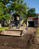 Driveway replacement Royalty Free Stock Photo