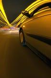 Drivin para as luzes Fotos de Stock Royalty Free