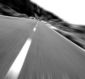 Driving !! Royalty Free Stock Photography