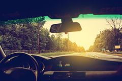 driving Imagenes de archivo
