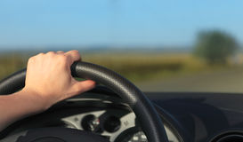 Driving abstract Royalty Free Stock Image
