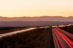 Driving across America stock photos