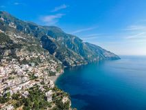Amalfi Coast View royalty free stock photography