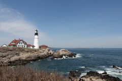 Beauty of Maine Lighthouses Royalty Free Stock Photo