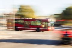 Driving bus Stock Photography