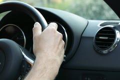 Driving a car Stock Photos