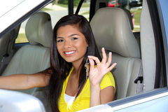 Driving Car Stock Image
