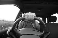 Driving car B Royalty Free Stock Photos