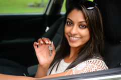 Driving Car Royalty Free Stock Images