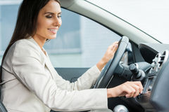 Driving with comfort. Royalty Free Stock Photo