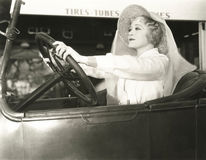 Driving with confidence Stock Images