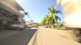 Driving in Costa Rica stock footage