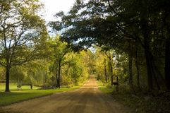 Take me Home Country Roads Royalty Free Stock Photography