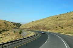 Driving on Deadman Pass Stock Photo