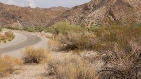 Driving through the desert in California US Stock Photos