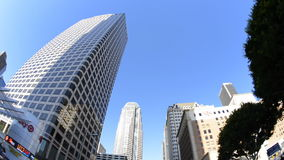 Driving Downtown Los Angeles stock video footage