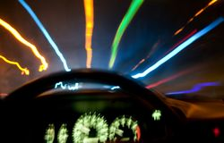 Driving in a dream Stock Photography