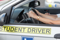 Driving education Stock Photos