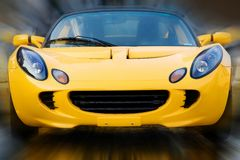 Driving Excitement Royalty Free Stock Photography