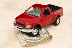 Driving expense Stock Photos