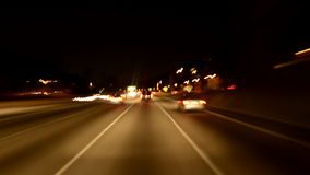 Driving on the 101 Freeway stock footage
