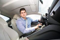 Driving girl Stock Image