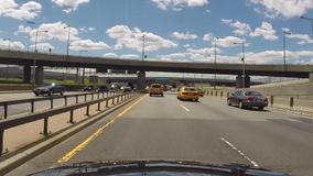 Driving on Highway, Freeway, Expressway stock video