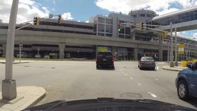 Driving on Highway, Freeway, Expressway stock video footage
