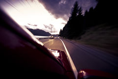 Driving home Royalty Free Stock Images