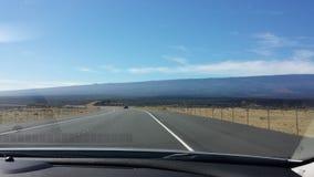 Driving in kona Stock Photo