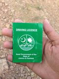 The driving licence . Royalty Free Stock Images
