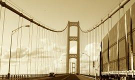 Driving Mackinaw Royalty Free Stock Photography