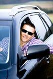 Driving man Stock Photos