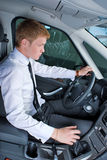 Driving man Stock Images