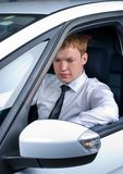 Driving man Stock Photography