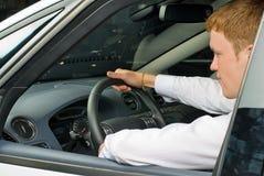 Driving man Royalty Free Stock Photos