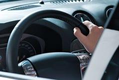 Driving man Stock Photo