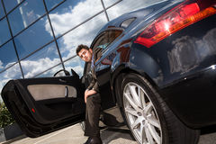 Driving man Royalty Free Stock Images