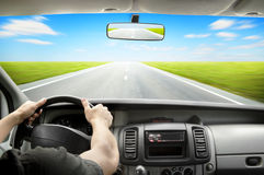 Driving Royalty Free Stock Photo