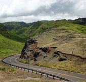 Driving Maui Island's Mountain Roads Stock Photos