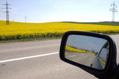 Free Driving Mirror Royalty Free Stock Image - 3509026