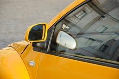 Driving mirror Stock Photo