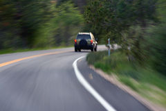 driving / motion blur / speed Royalty Free Stock Photos