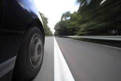 Driving at mountain road . Royalty Free Stock Photos