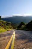 Driving Mystic. Wine country backroads Royalty Free Stock Photo