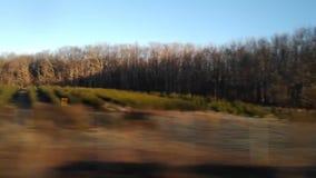 Driving the NJ Turnpike, USA stock footage