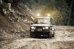 Off Road Vehicle. Driving Off Road Car in the mud very strong vehicle Stock Image