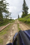 Driving offroad Royalty Free Stock Images